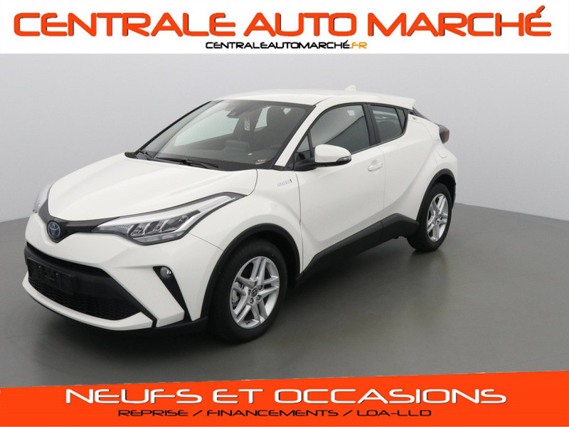 Toyota C-HR ACTIVE + CONNECT PACK HYBRIDE 040 PURE WHITE Neuf à vendre