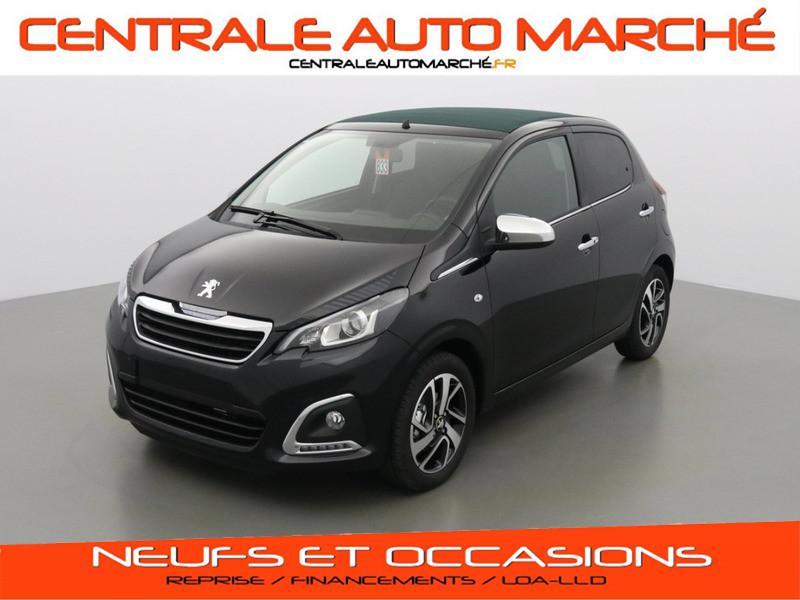 Peugeot 108 TOP! COLLECTION ESSENCE M0XZ NOIR CALDERA Neuf à vendre