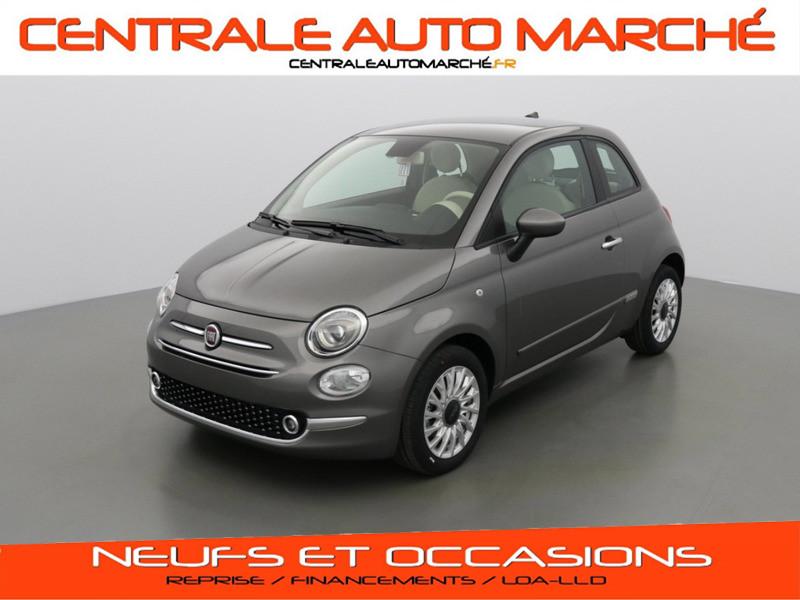 Photo 1 de l'offre de FIAT 500 SERIE 8 LOUNGE à 14290€ chez Centrale auto marché Périgueux