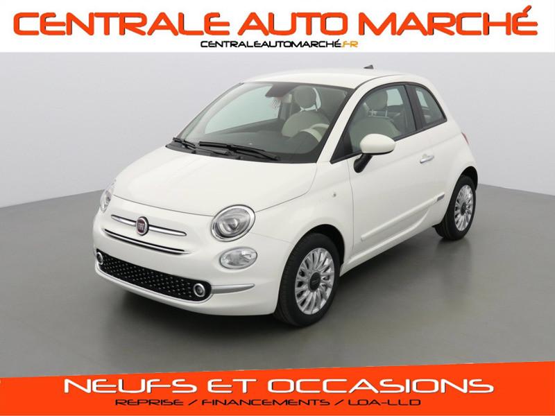 Photo 1 de l'offre de FIAT 500 SERIE 8 LOUNGE à 13960€ chez Centrale auto marché Périgueux