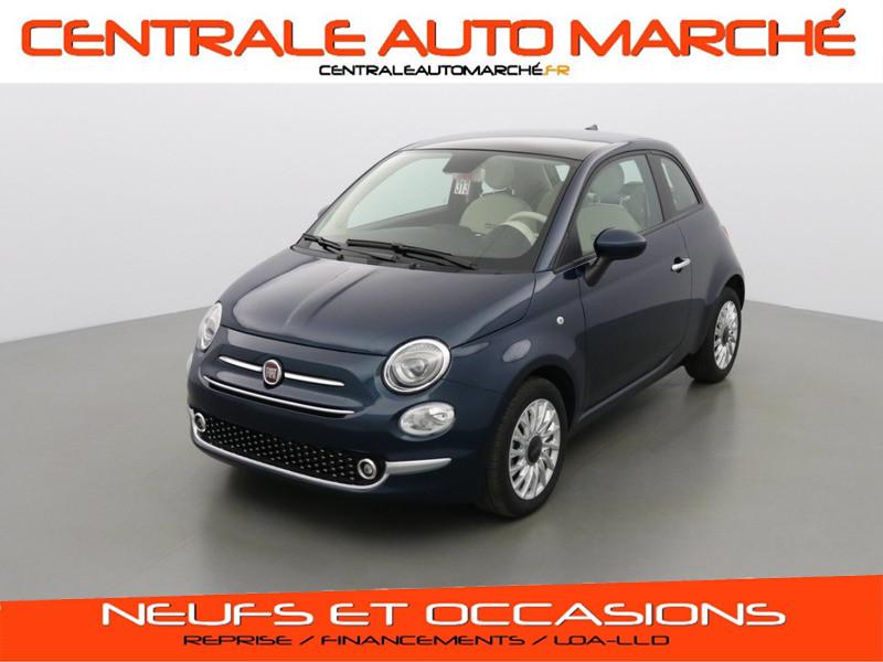 Photo 1 de l'offre de FIAT 500 SERIE 8 LOUNGE à 15066€ chez Centrale auto marché Périgueux