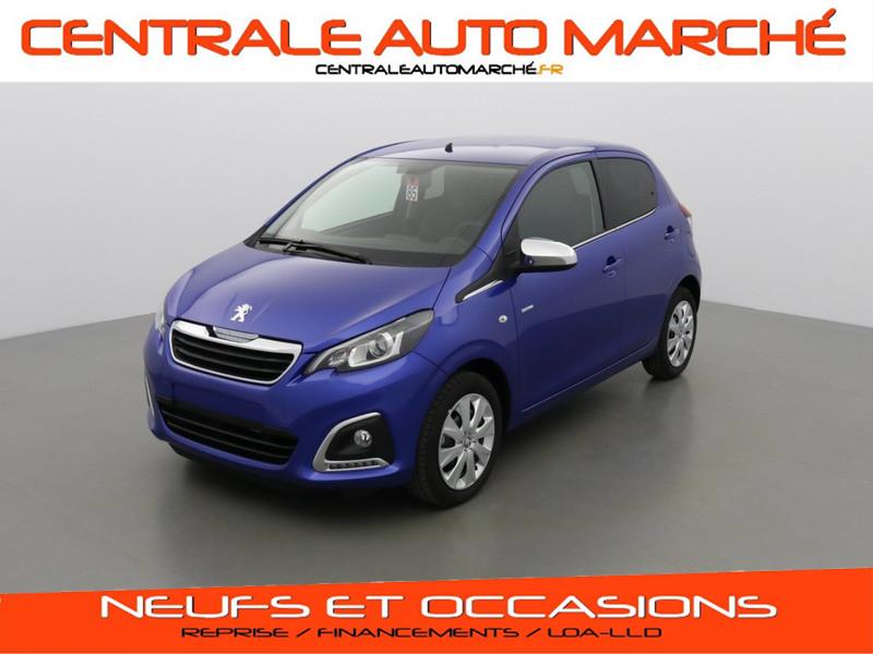 Peugeot 108 STYLE ESSENCE M0TB BLEU CALVI Neuf à vendre
