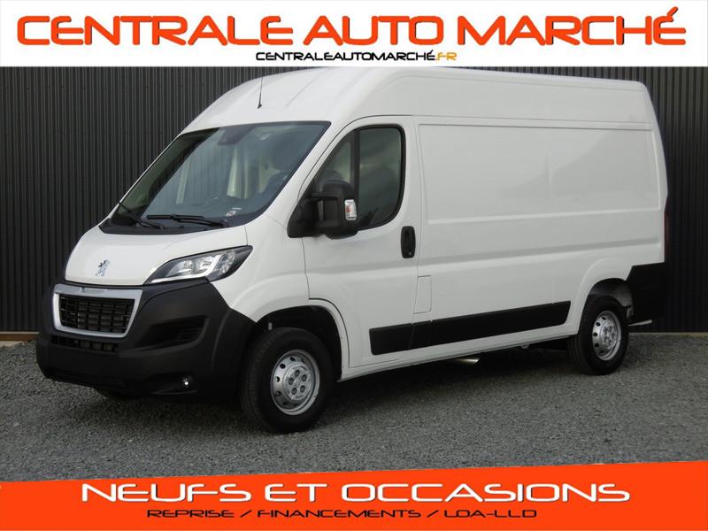 Peugeot BOXER FOURGON TOLE L2H2 ASPHALT DIESEL BLANC BANQUISE Neuf à vendre