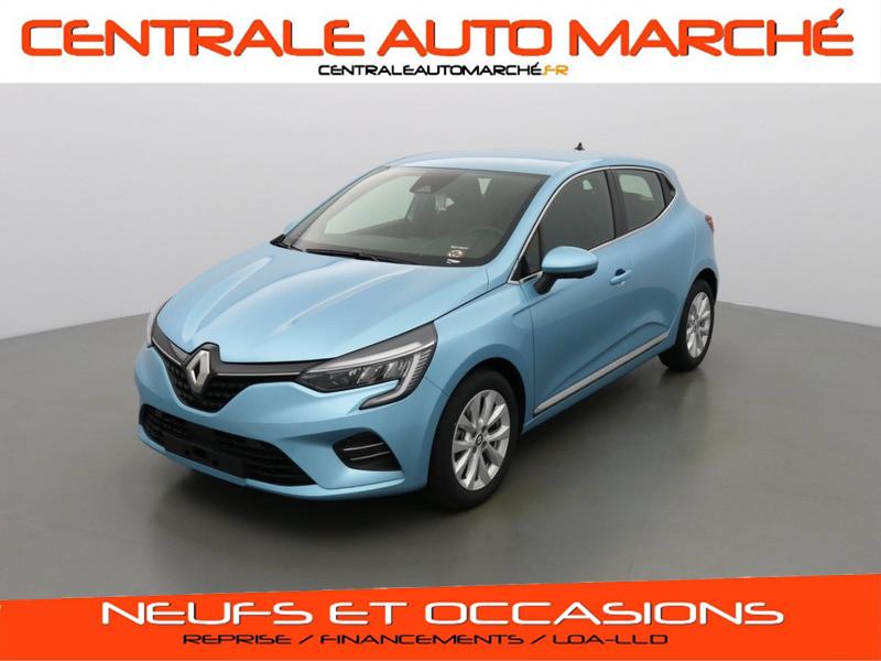 Renault CLIO 5 INTENS ESSENCE RQT Bleu Céladon Neuf à vendre