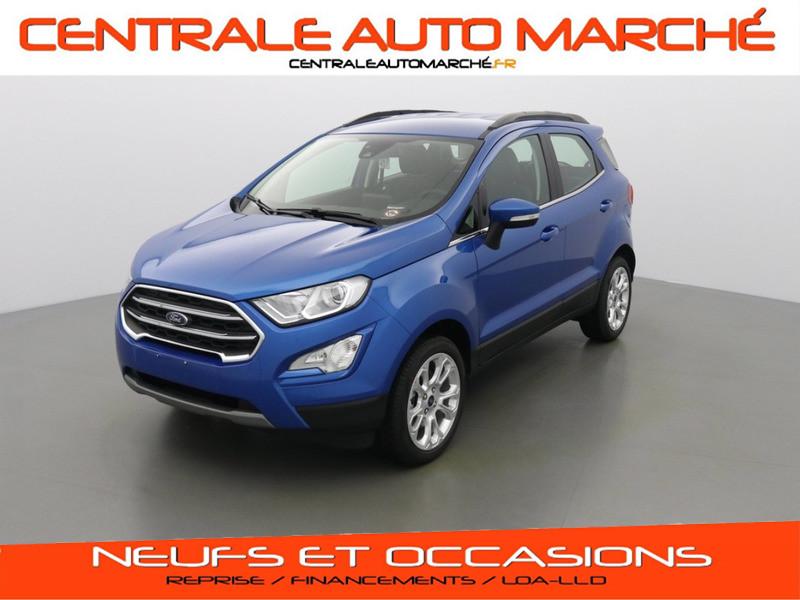 Ford ECOSPORT TITANIUM ESSENCE DESERT ISLAND BLUE Neuf à vendre