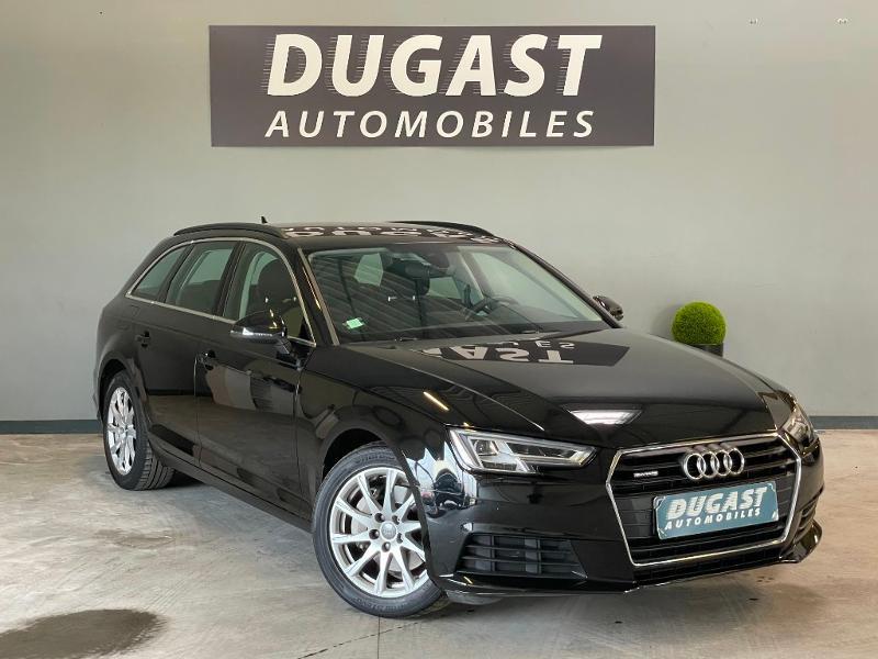 Audi A4 Avant 40 TDI 190ch Business line quattro S tronic 7 Euro6d-T Diesel Noir Métal Occasion à vendre