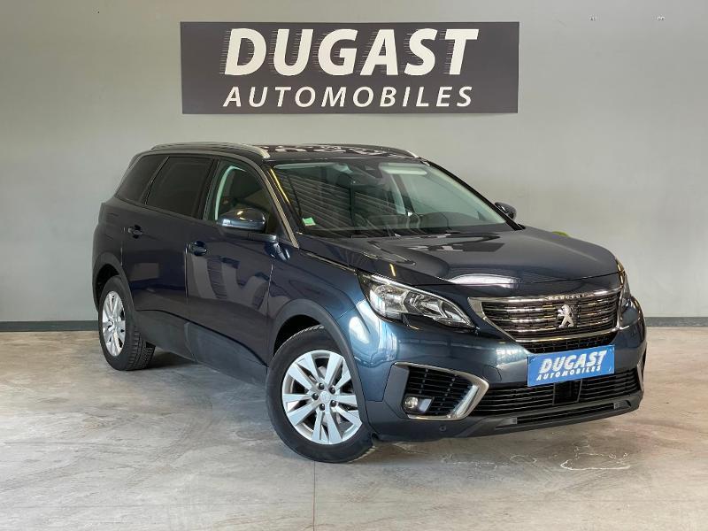 Peugeot 5008 1.5 BlueHDi 130ch E6.c Active Business S&S EAT8 Diesel Bleu Foncé Métal Occasion à vendre