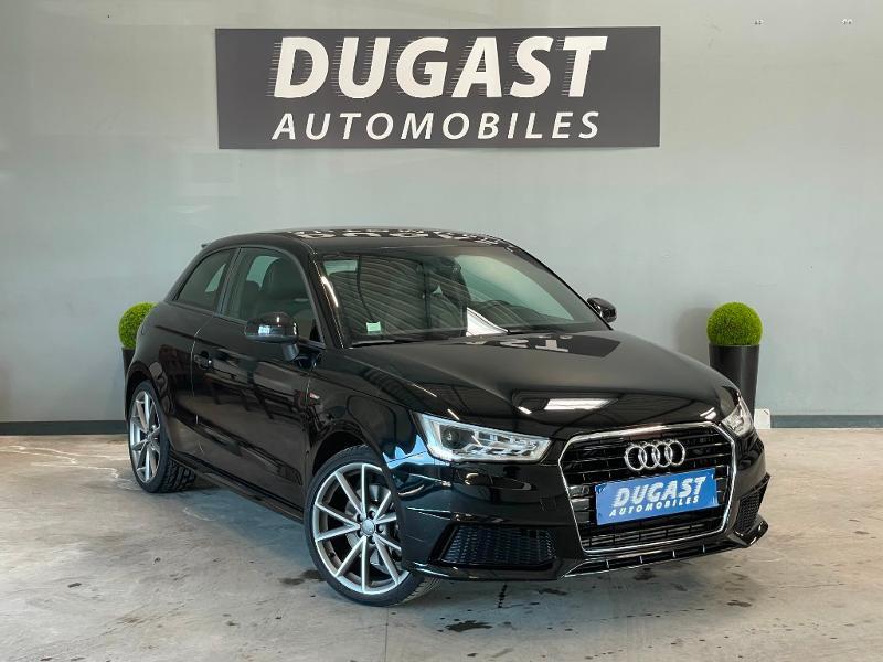 Audi A1 1.8 TFSI 192ch S line S tronic 7 Essence Noir Métal Occasion à vendre