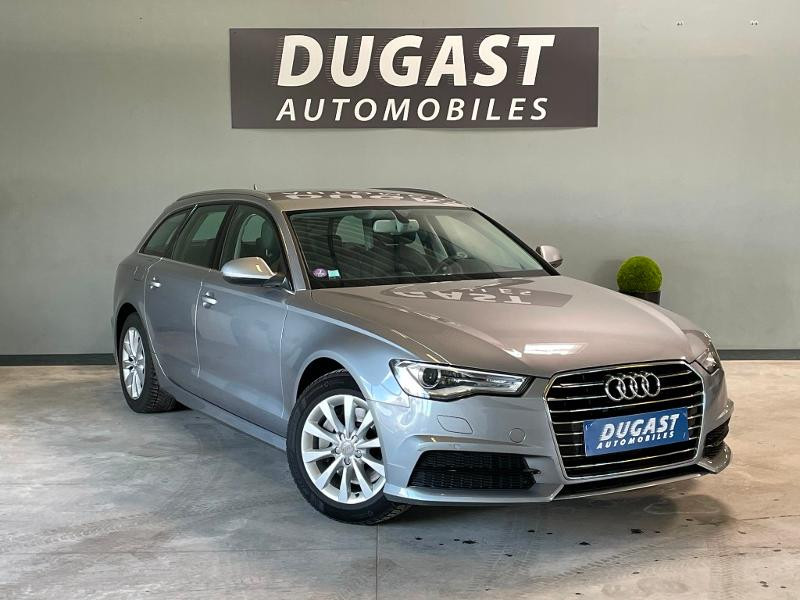 Audi A6 Avant 2.0 TFSI 252ch Business Executive S tronic 7 Essence Gris Clair Métal Occasion à vendre