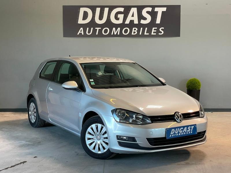 Volkswagen Golf Ste 1.6 TDI 90ch BlueMotion Technology FAP Trendline Business 3p Diesel Gris Clair Métal Occasion à vendre