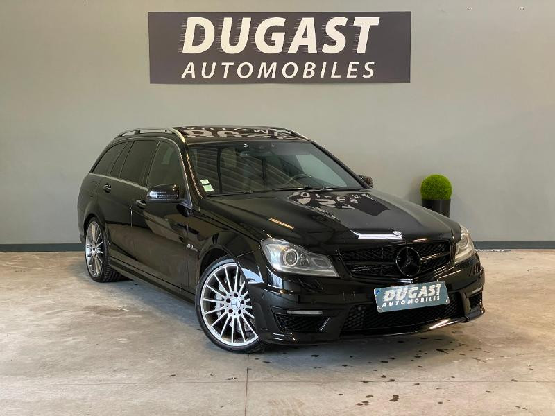 Mercedes-Benz Classe C Break 63 AMG Speedshift MCT Essence Noir Métal Occasion à vendre