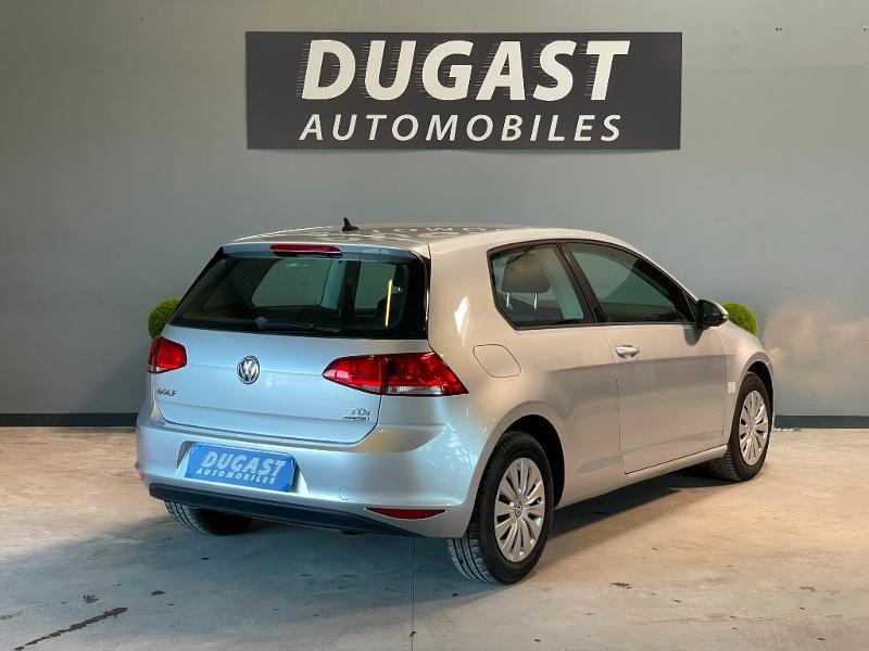 Photo 4 de l'offre de VOLKSWAGEN Golf Ste 1.6 TDI 90ch BlueMotion Technology FAP Trendline Business 3p à 7900€ chez Dugast automobiles