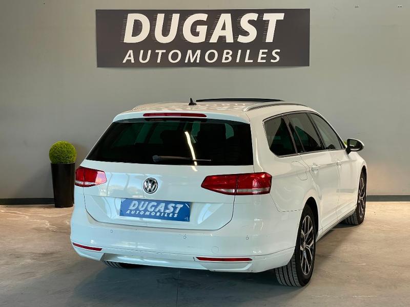 Photo 4 de l'offre de VOLKSWAGEN Passat 1.6 TDI 120ch BlueMotion Technology Confortline Business DSG7 à 12900€ chez Dugast automobiles