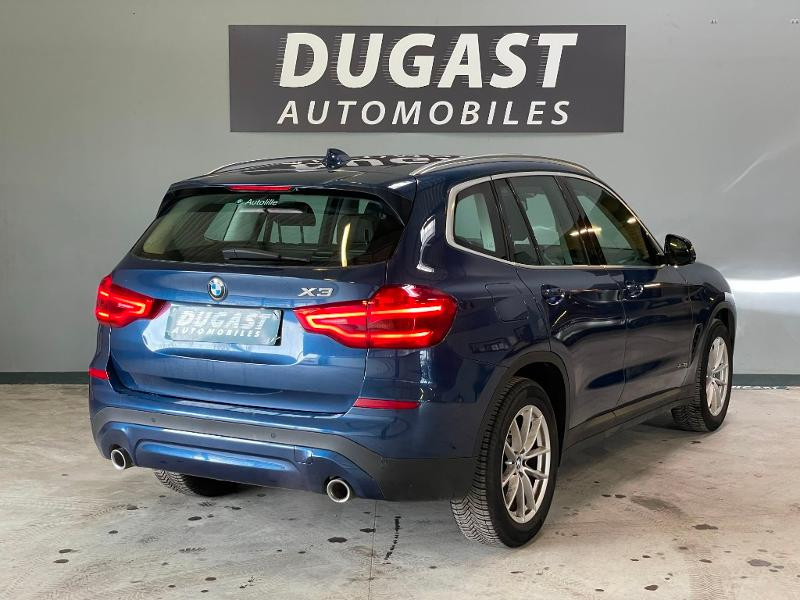 Photo 4 de l'offre de BMW X3 XDRIVE 20DA 190ch LOUNGE PLUS à 35900€ chez Dugast automobiles