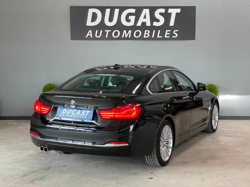 Photo 4 de l'offre de BMW Serie 4 Gran Coupe 420d 190ch Luxury Euro6c à 27900€ chez Dugast automobiles