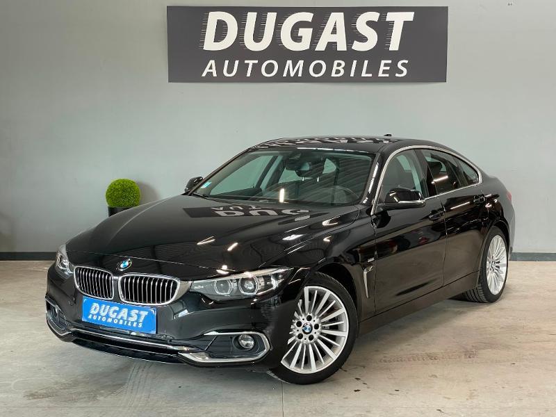Photo 2 de l'offre de BMW Serie 4 Gran Coupe 420d 190ch Luxury Euro6c à 27900€ chez Dugast automobiles