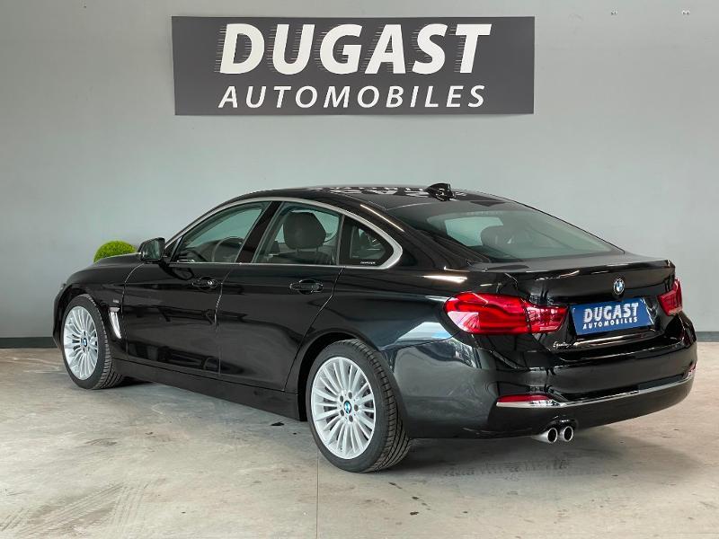 Photo 3 de l'offre de BMW Serie 4 Gran Coupe 420d 190ch Luxury Euro6c à 27900€ chez Dugast automobiles