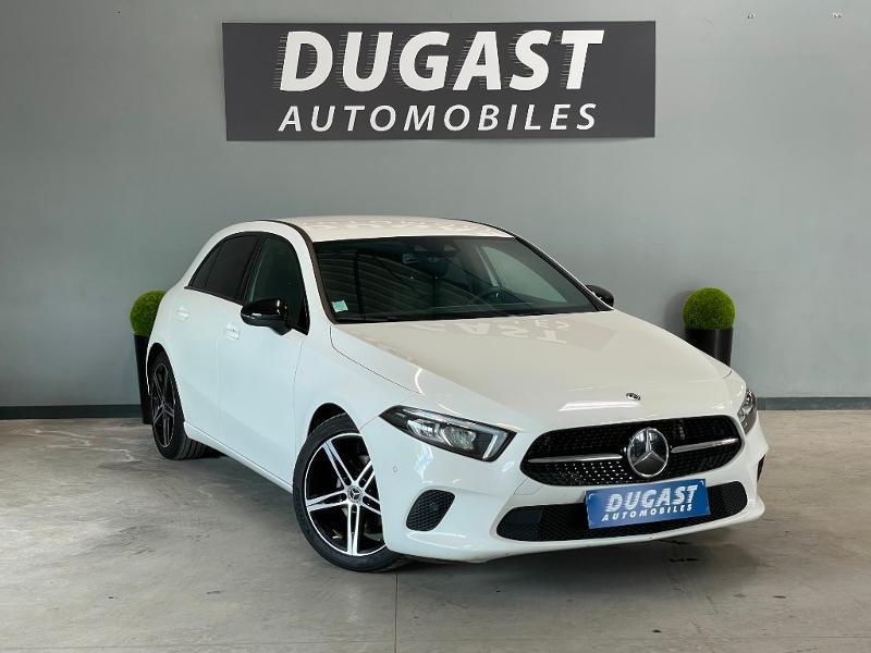 Mercedes-Benz Classe A 180 d 116ch Progressive Line 7G-DCT Diesel Blanc Métal Occasion à vendre