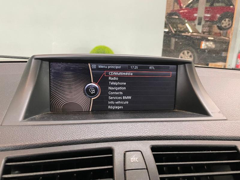 Photo 15 de l'offre de BMW Serie 1 Cabriolet 120dA 177ch Luxe à 11900€ chez Dugast automobiles