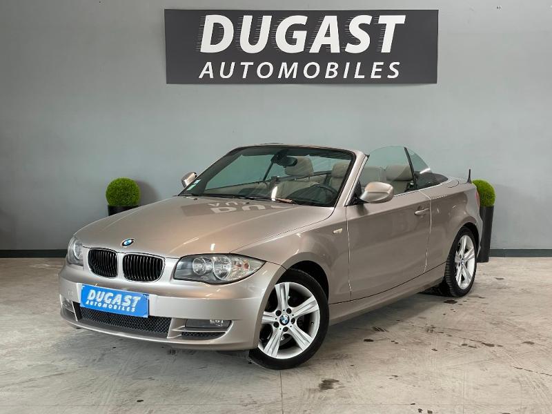 Photo 2 de l'offre de BMW Serie 1 Cabriolet 120dA 177ch Luxe à 11900€ chez Dugast automobiles