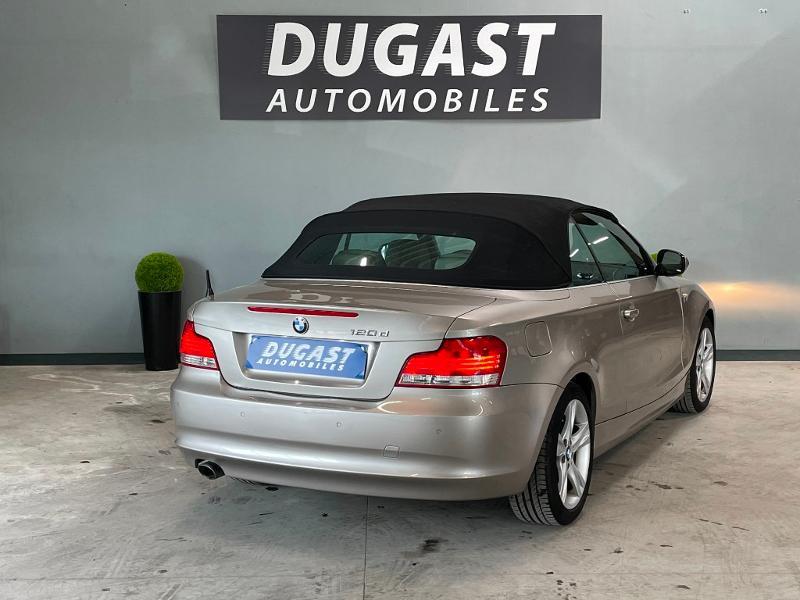 Photo 4 de l'offre de BMW Serie 1 Cabriolet 120dA 177ch Luxe à 11900€ chez Dugast automobiles
