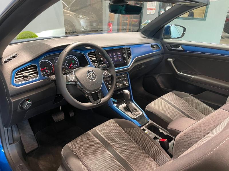 Photo 12 de l'offre de VOLKSWAGEN T-Roc cabriolet 1.5 TSI EVO 150ch style DSG7 Euro6d-T à 31900€ chez Dugast automobiles