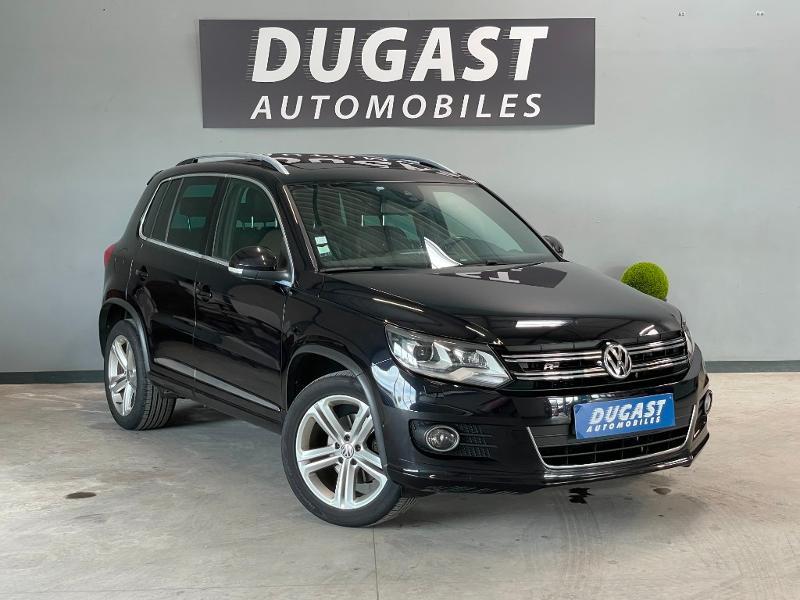 Volkswagen Tiguan 2.0 TDI 177ch BlueMotion Technology FAP R Exclusive 4Motion DSG7 Diesel NOIR Occasion à vendre