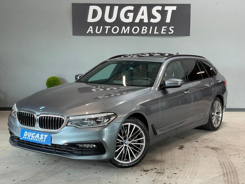 Photo 2 de l'offre de BMW Serie 5 Touring 520dA 190ch Sport Steptronic Euro6c à 37900€ chez Dugast automobiles