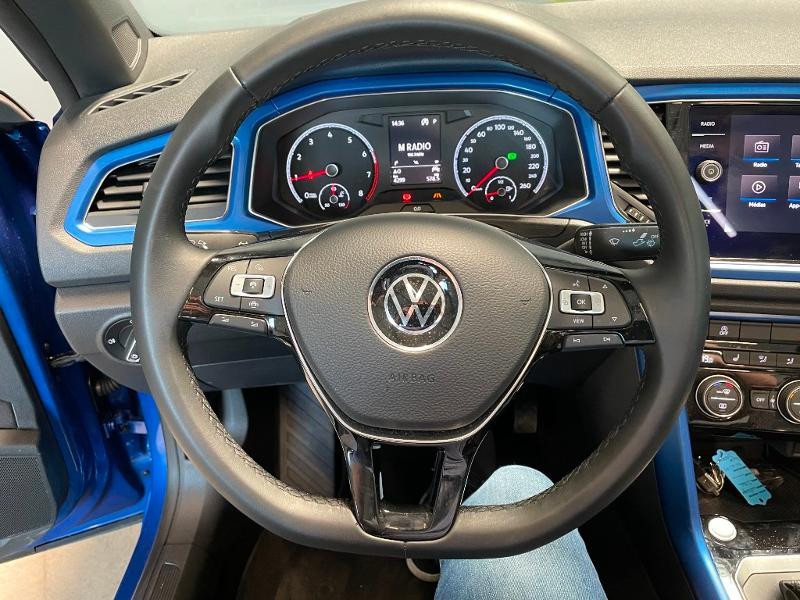 Photo 15 de l'offre de VOLKSWAGEN T-Roc cabriolet 1.5 TSI EVO 150ch style DSG7 Euro6d-T à 31900€ chez Dugast automobiles