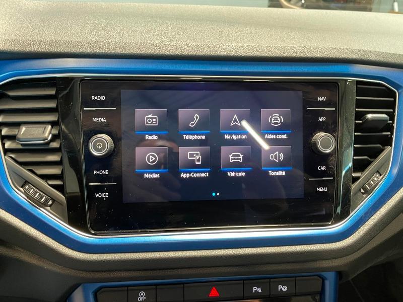 Photo 16 de l'offre de VOLKSWAGEN T-Roc cabriolet 1.5 TSI EVO 150ch style DSG7 Euro6d-T à 31900€ chez Dugast automobiles