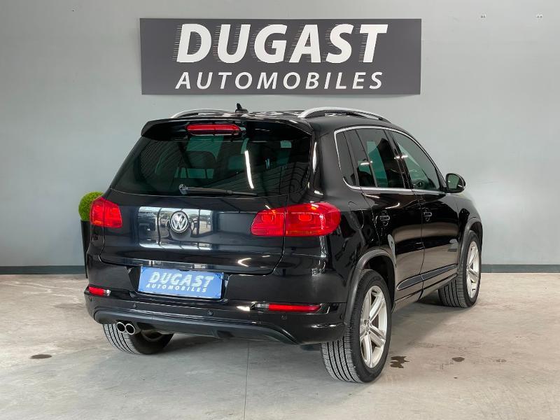 Photo 4 de l'offre de VOLKSWAGEN Tiguan 2.0 TDI 177ch BlueMotion Technology FAP R Exclusive 4Motion DSG7 à 16900€ chez Dugast automobiles