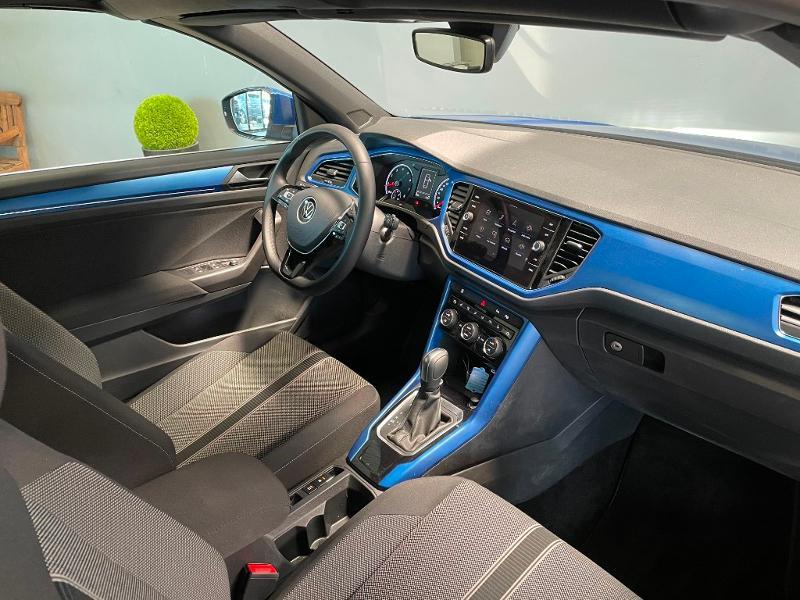 Photo 5 de l'offre de VOLKSWAGEN T-Roc cabriolet 1.5 TSI EVO 150ch style DSG7 Euro6d-T à 31900€ chez Dugast automobiles