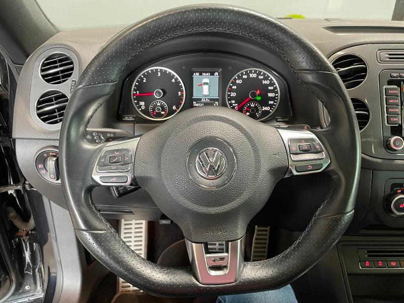 Photo 18 de l'offre de VOLKSWAGEN Tiguan 2.0 TDI 177ch BlueMotion Technology FAP R Exclusive 4Motion DSG7 à 16900€ chez Dugast automobiles