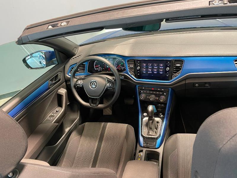 Photo 9 de l'offre de VOLKSWAGEN T-Roc cabriolet 1.5 TSI EVO 150ch style DSG7 Euro6d-T à 31900€ chez Dugast automobiles