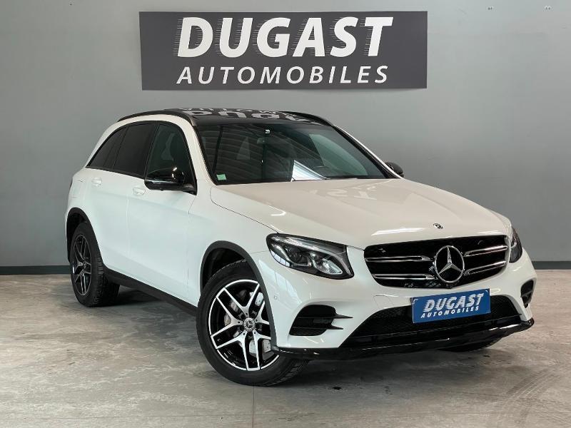 Mercedes-Benz GLC 250 d 204ch Sportline 4Matic 9G-Tronic Euro6c Diesel Blanc Métal Occasion à vendre