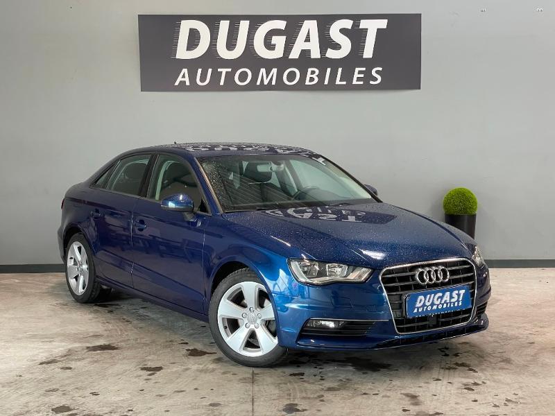 Audi A3 Berline 1.6 TDI 110ch FAP Ambition S tronic 7 Diesel Bleu Foncé Métal Occasion à vendre