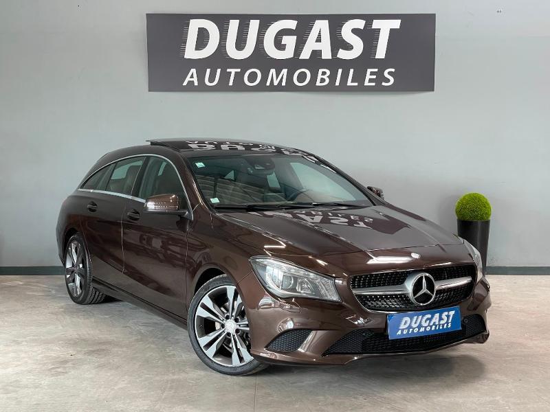 Mercedes-Benz CLA Shooting Brake 200 Sensation 7G-DCT Essence Marron Occasion à vendre