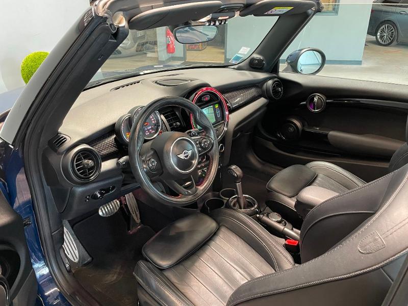 Photo 14 de l'offre de MINI Mini Cooper S cabriolet 192ch John Cooper Works BVA à 25900€ chez Dugast automobiles
