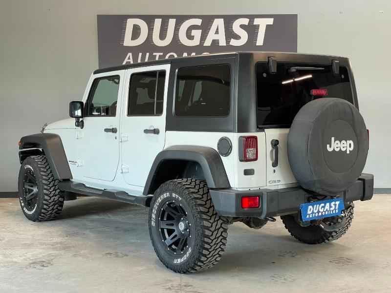 Photo 3 de l'offre de JEEP Wrangler 2.8 CRD 200 FAP Unlimited Sahara à 31900€ chez Dugast automobiles