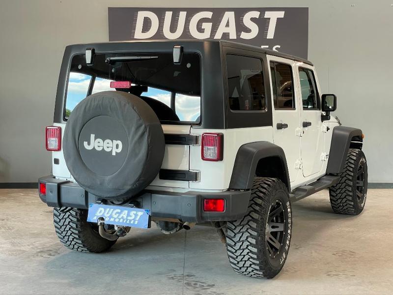 Photo 4 de l'offre de JEEP Wrangler 2.8 CRD 200 FAP Unlimited Sahara à 31900€ chez Dugast automobiles