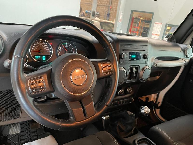 Photo 14 de l'offre de JEEP Wrangler 2.8 CRD 200 FAP Unlimited Sahara à 31900€ chez Dugast automobiles