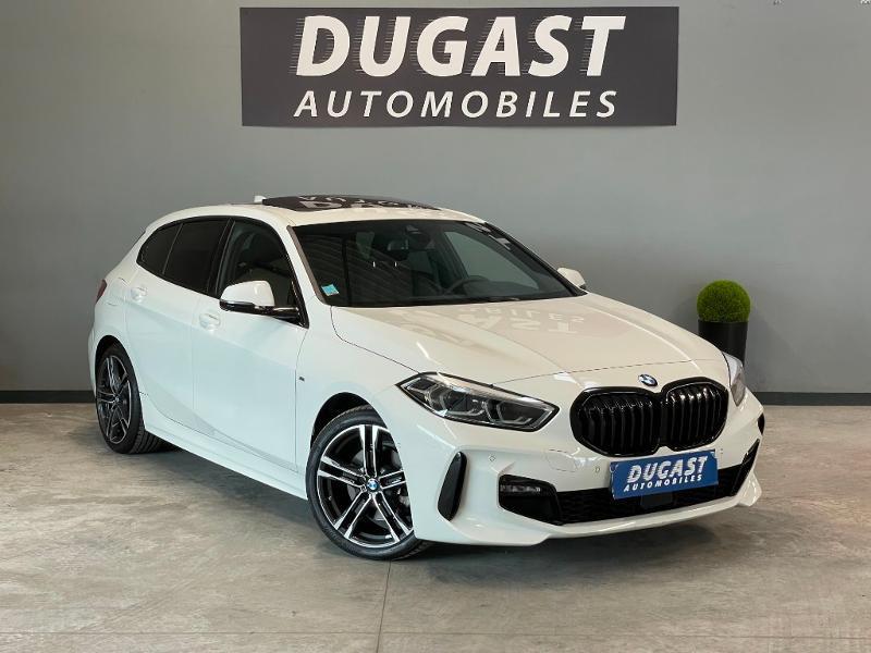 Bmw Serie 1 118dA 150ch M Sport 8cv Diesel Blanc Métal Occasion à vendre