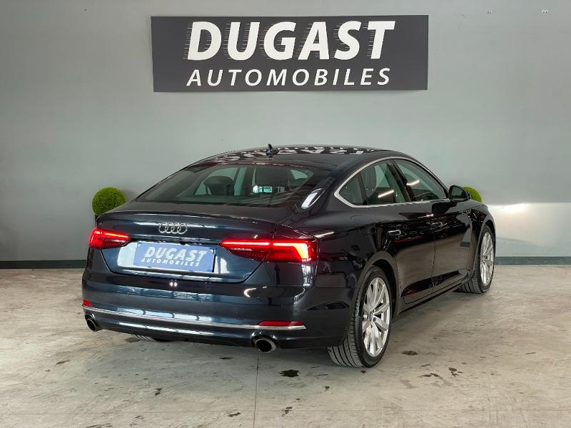 Photo 4 de l'offre de AUDI A5 Sportback 2.0 TFSI 190ch Design S tronic 7 à 34900€ chez Dugast automobiles