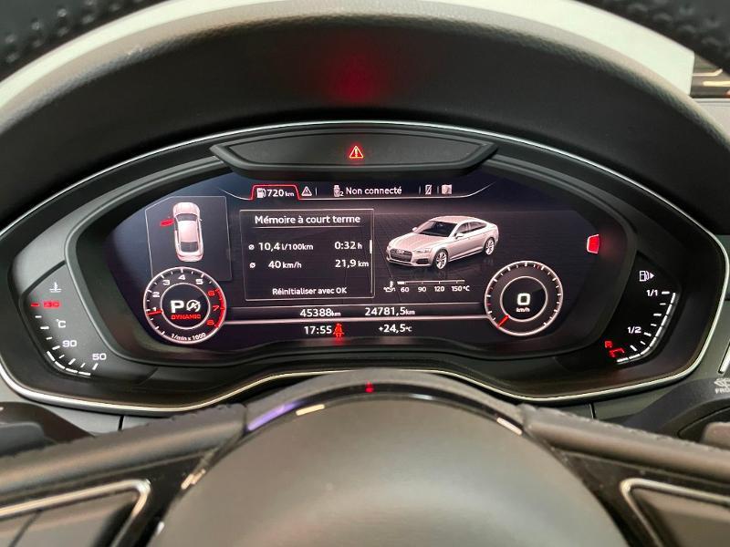 Photo 25 de l'offre de AUDI A5 Sportback 2.0 TFSI 190ch Design S tronic 7 à 34900€ chez Dugast automobiles