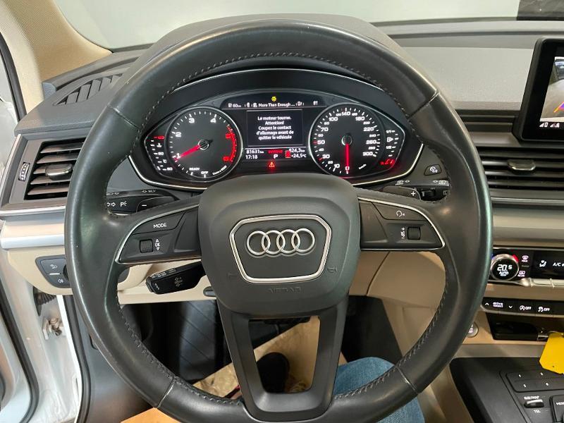 Photo 19 de l'offre de AUDI Q5 2.0 TDI 163ch Business Executive quattro S tronic 7 à 33900€ chez Dugast automobiles