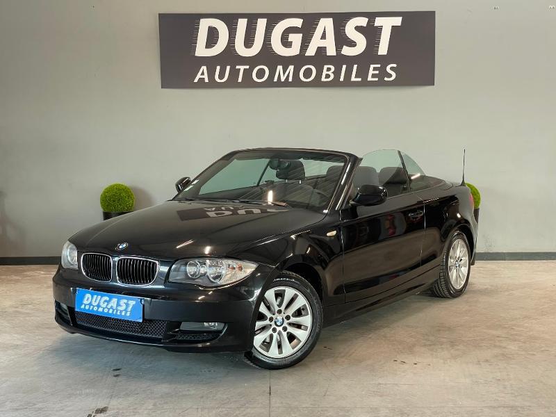 Photo 2 de l'offre de BMW Serie 1 Cabriolet 118d 143ch Confort à 11900€ chez Dugast automobiles