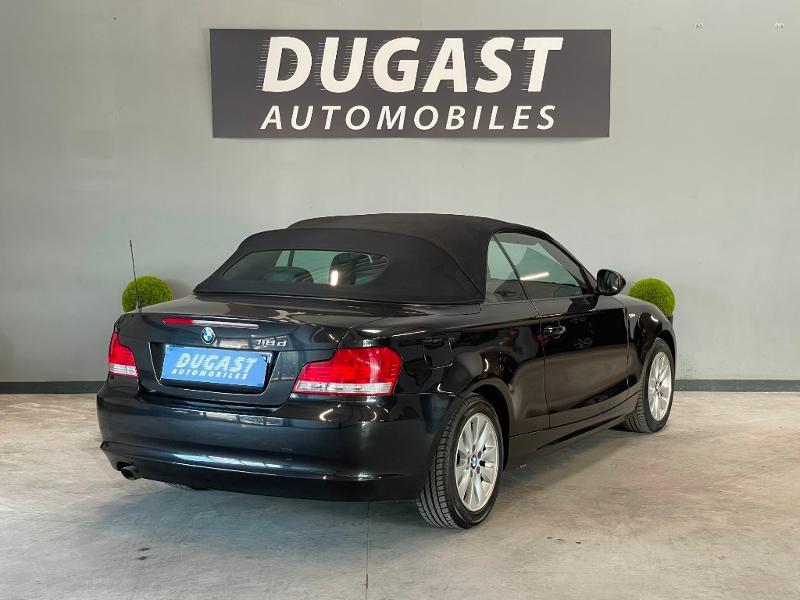 Photo 9 de l'offre de BMW Serie 1 Cabriolet 118d 143ch Confort à 11900€ chez Dugast automobiles