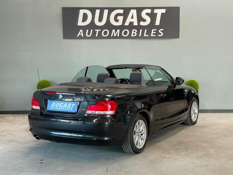 Photo 4 de l'offre de BMW Serie 1 Cabriolet 118d 143ch Confort à 11900€ chez Dugast automobiles