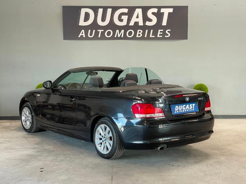 Photo 3 de l'offre de BMW Serie 1 Cabriolet 118d 143ch Confort à 11900€ chez Dugast automobiles