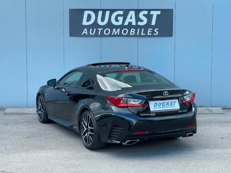 Photo 3 de l'offre de LEXUS RC 300h F SPORT Executive Black Edition à 36900€ chez Dugast automobiles